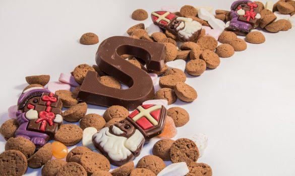 Zwarte Piet Sinterklaas snoep