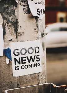 goed nieuws positieve woorden