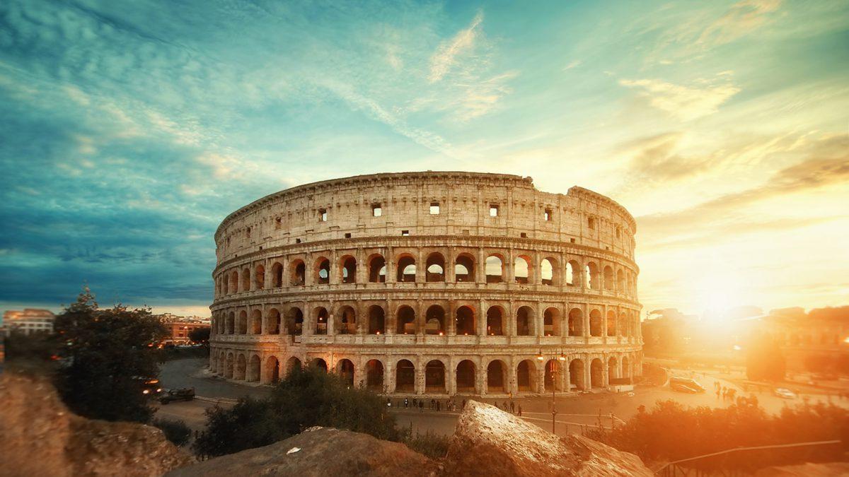 Zijn als een Romein